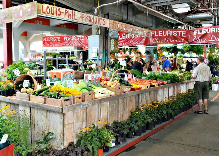 Jean Talon Market is my absolute favorite place to visit in Montreal. Such an amazing gathering of local food producers!