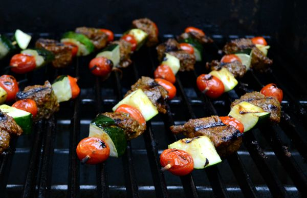 Prep Dish Meal Planning Review: Beef Kabobs with Zucchini and Tomato