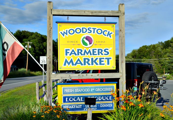 The Woodstock Farmers Market has a great deli and wide selection of locally sourced food.