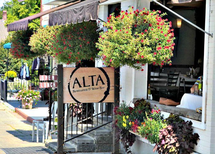 Alta Restaurant in Lenox, Massachusetts is one of the most popular locavore restaurants in the Berkshires.