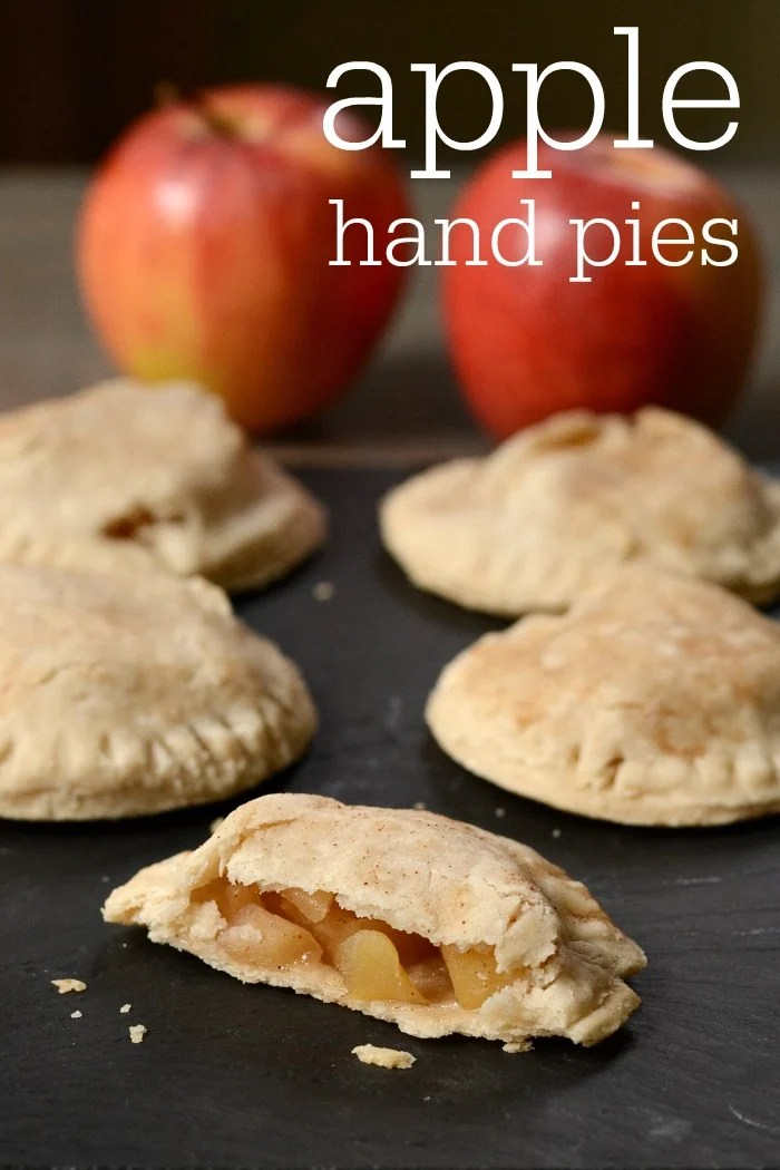 These apple hand pies are such a delicious snack or dessert! They're the perfect little treat recipe to make with fresh apples during the fall.