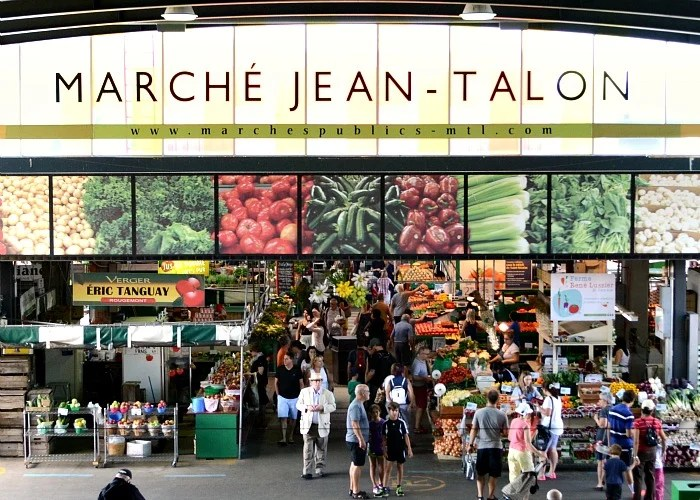 Jean Talon Market is a gem in the middle on Montreal.