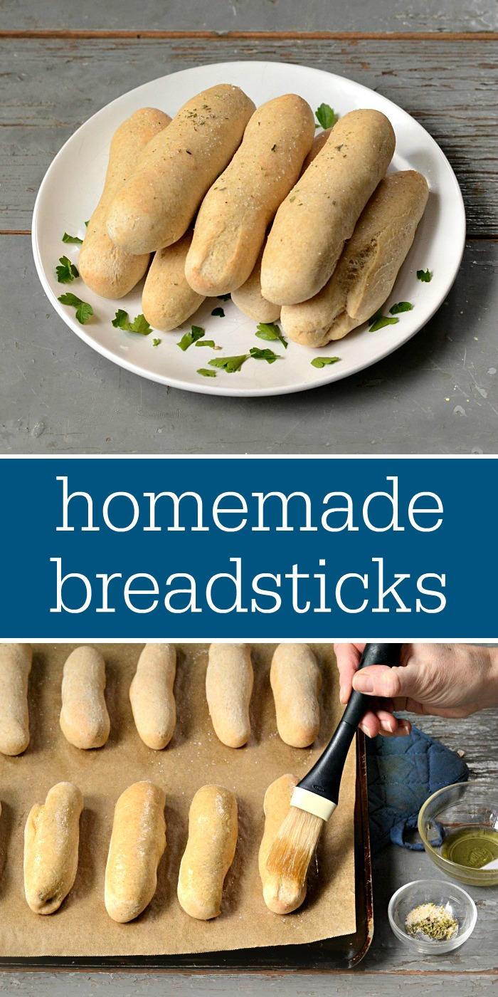 You have to try these homemade breadsticks! They're the perfect comfort food, and they cost just 9 cents per serving. My family loves this recipe.