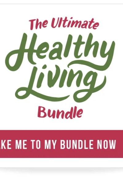 Ultimate Healthy Living Bundle Flash Sale