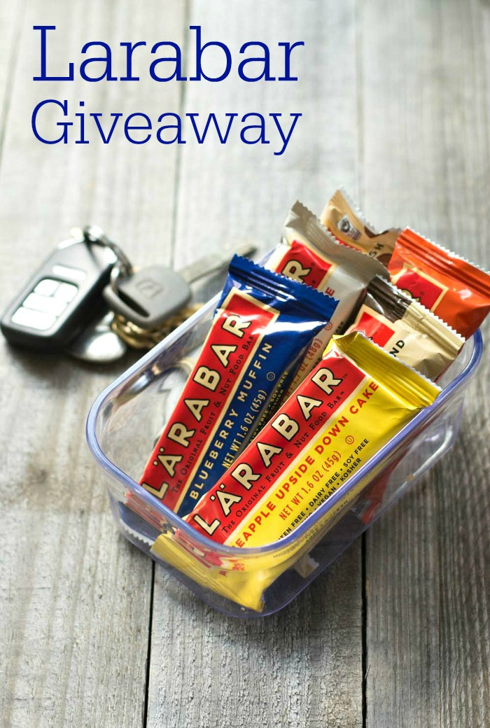 Larabars Real Food Giveaway: Larabars are one of the only real food packaged snacks you can buy, and they help make wholesome food available to all.