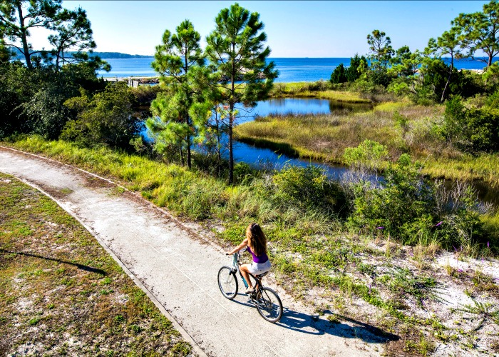 Biking in Gulf County Florida