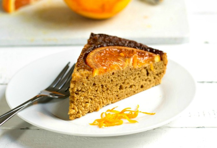 Orange olive oil cake. Such a delicious recipe!