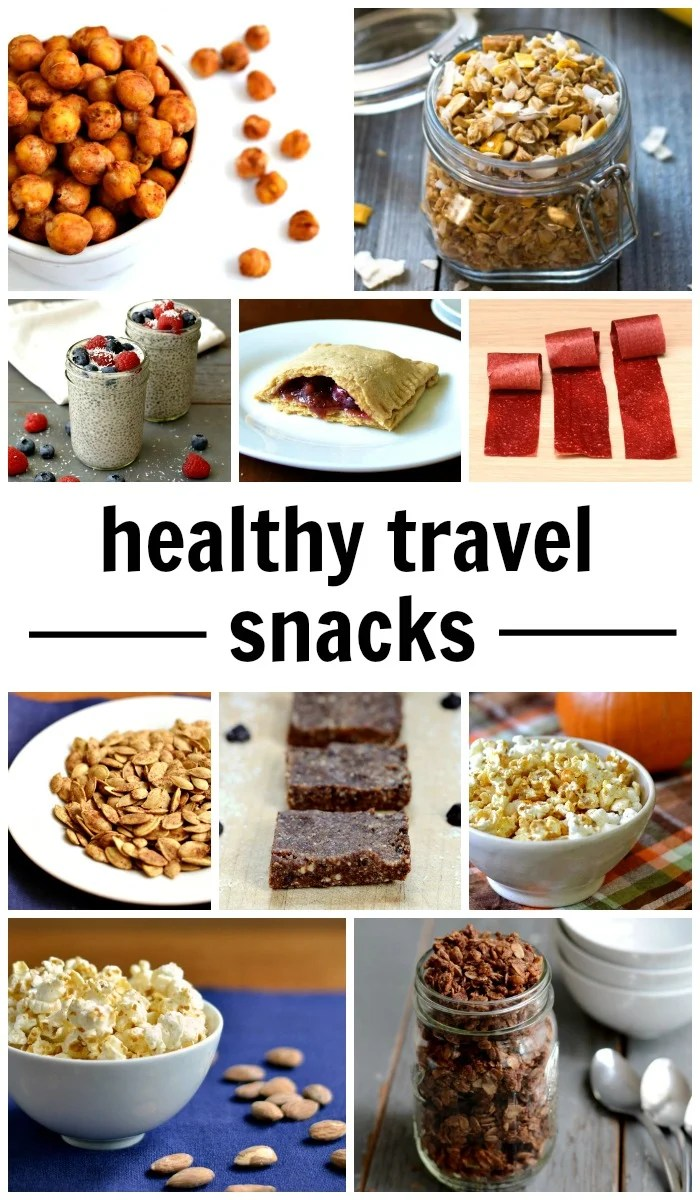 Healthy travel snacks are an essential part of the summer vacation season. Bring along some of these homemade snacks on your next road trip to help keep your family healthy and energized.