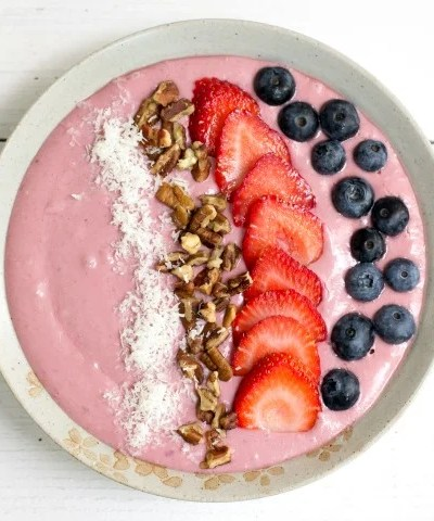 Cottage Cheese Smoothie Bowl