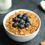 Nature's Promise products are featured in this coconut granola recipe.