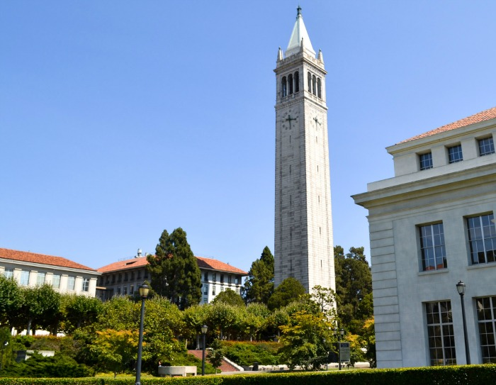 UC Berkeley campus is just 2 blocks from the Hotel Shattuck Plaza