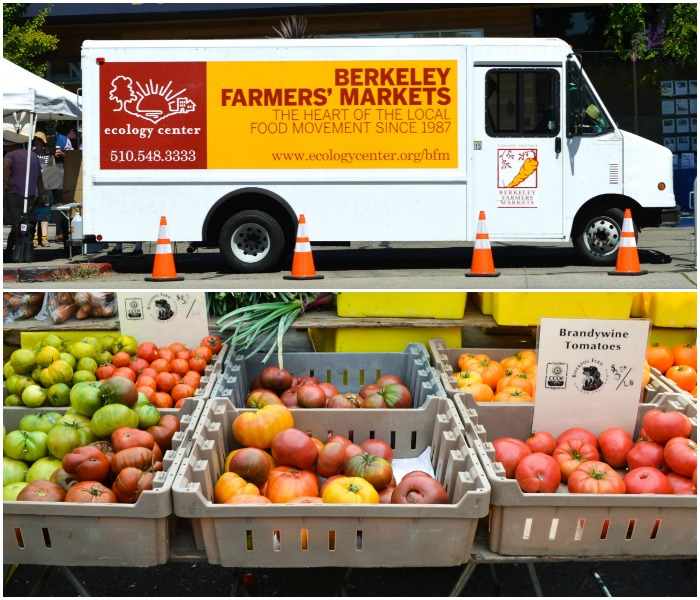 The Berkeley Farmers Market is a great place to get organic produce fresh from the region's farms.