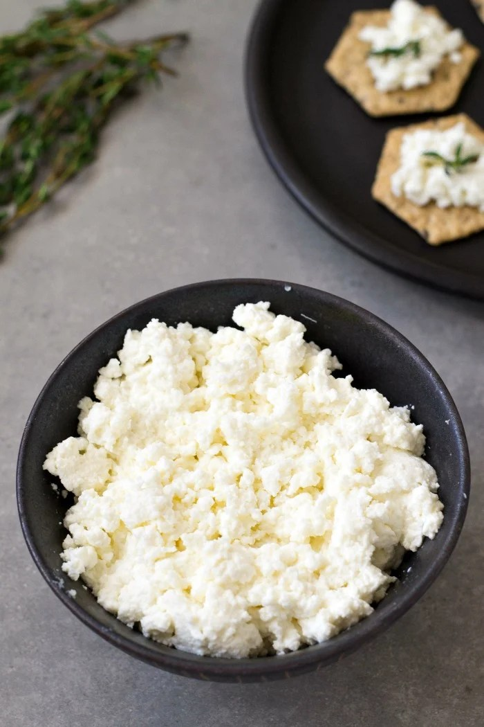 Homemade ricotta is one of the easiest recipes you'll ever make. This Instant Pot ricotta recipe costs much less than store-bought ricotta, and it tastes delicious!