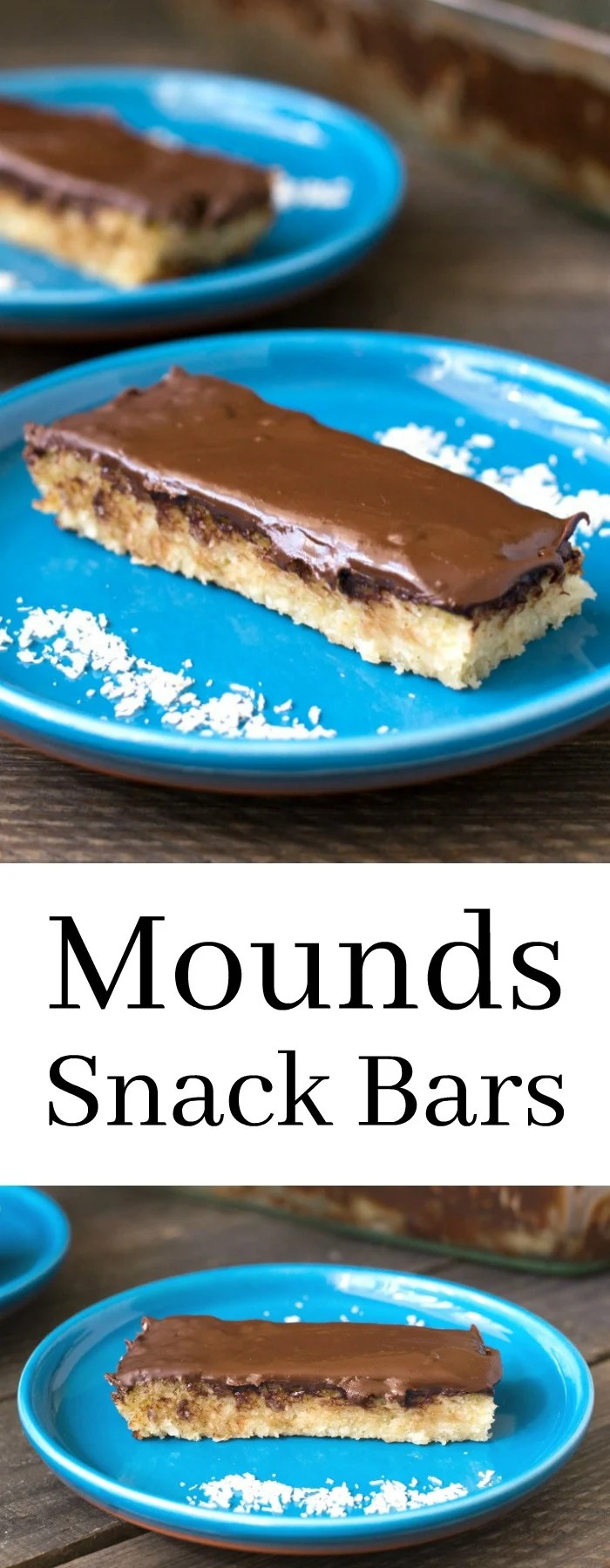 These homemade Mounds bars are a healthier dessert that will satisfy your sweet tooth. This gluten-free, dairy-free recipe tastes like the real thing! Recipe from realfoodrealdeals.com