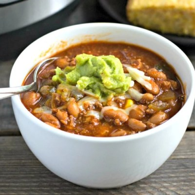 Instant Pot Beef Chili