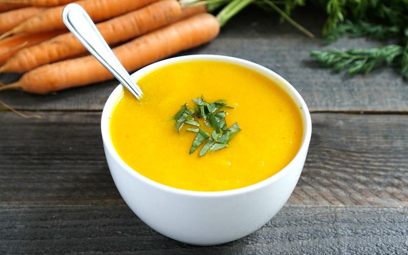 Instant Pot Ginger Carrot Soup