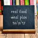 Real Food Meal Plan Week 169