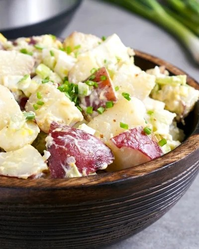 Instant Pot potato salad is such an easy side dish recipe!