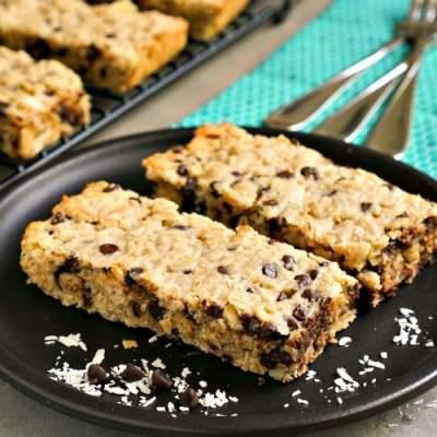Healthy Oatmeal Bars Recipe