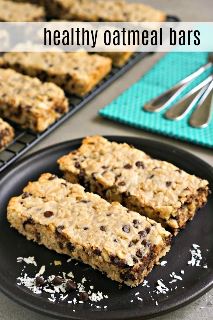These healthy oatmeal bars are so much better than store-bought snacks! Everyone will love their soft texture and delicious flavor. (gluten-free, dairy-free)