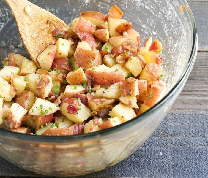 Instant Pot German potato salad is so delicious!