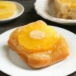 This gluten free pineapple upside down cake is such a delicious dessert recipe!