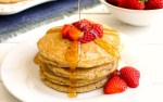 Gluten free oat pancakes are so healthy and delicious!