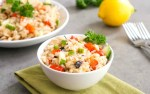 This Mediterranean rice recipe is a delicious lemon rice side dish.