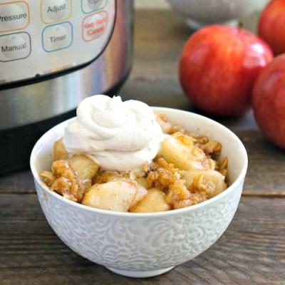 Instant Pot apple crisp recipe