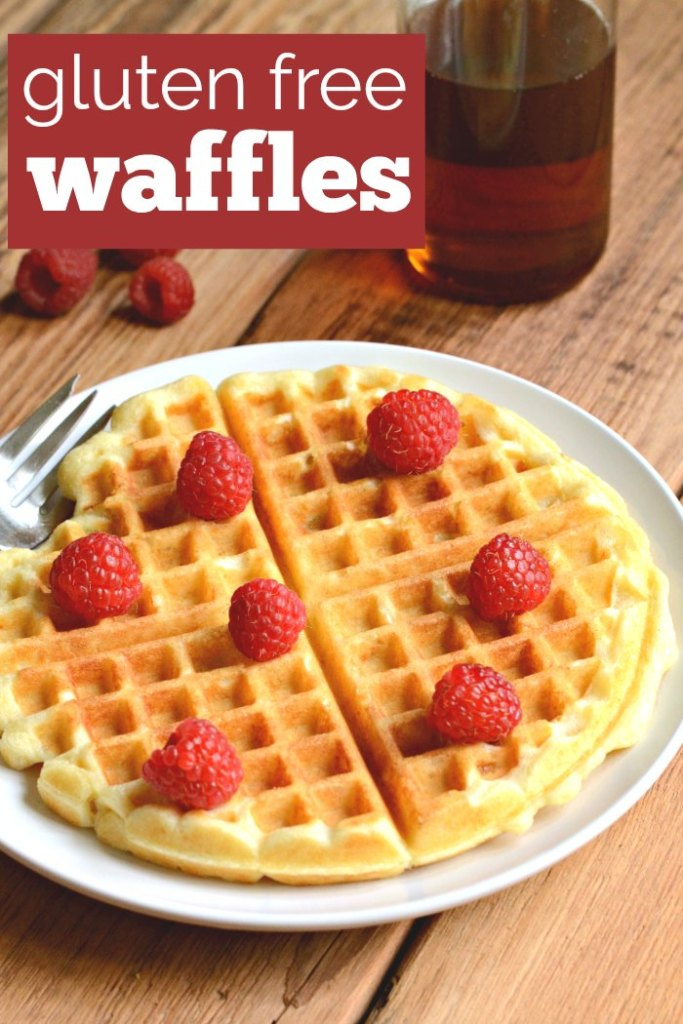 Gluten free waffles are so easy to make, and they taste delicious!