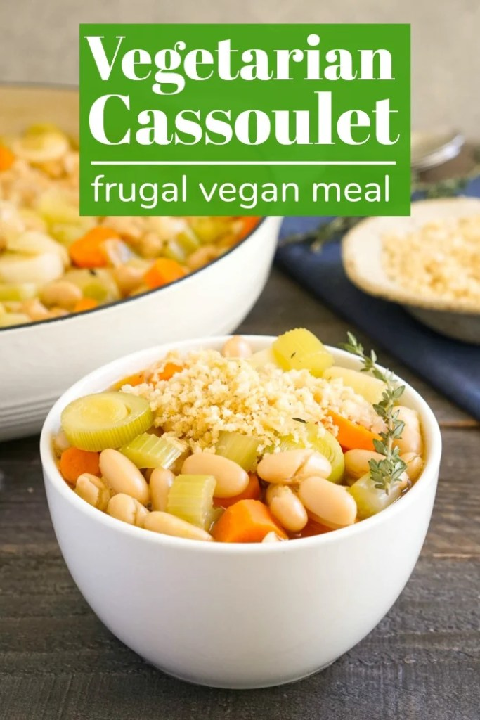This vegetarian cassoulet is a hearty vegan soup.