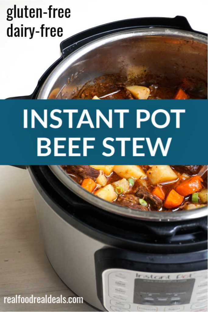 Stew in the Instant Pot