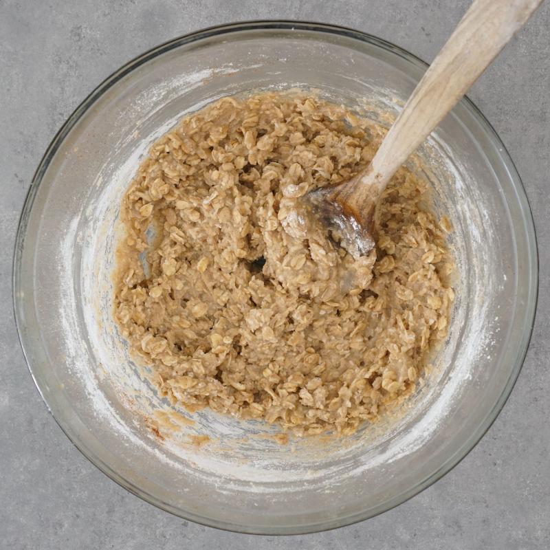 Crisp topping mixture