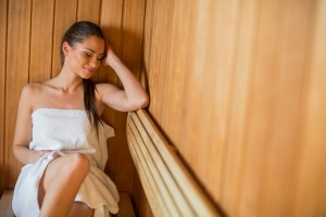 woman-in-sauna-300x200 5 Way to Jumpstart WEIGHT LOSS in the New Year Without stepping Foot into a Gym!