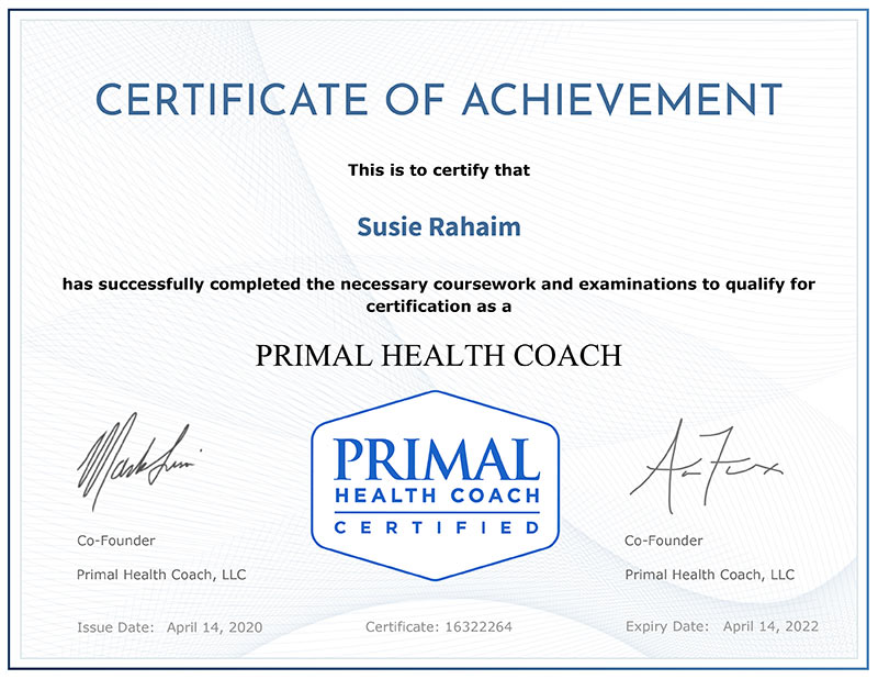 primal-health-coach-certificate Coaching Services