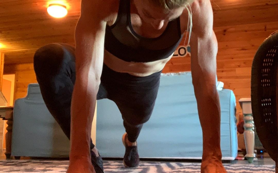Wake up. Workout.
