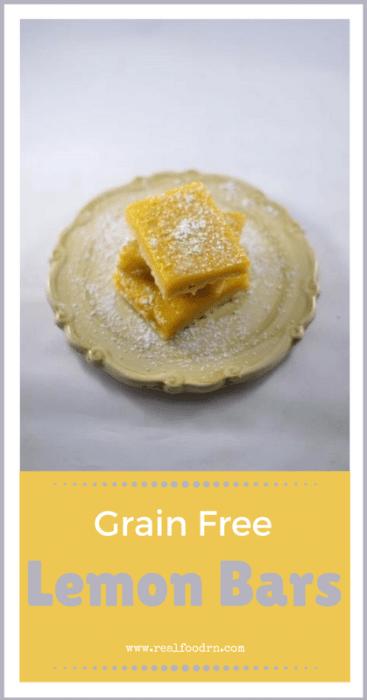 Delicious Grain Free Lemon Bars   Real Food RN