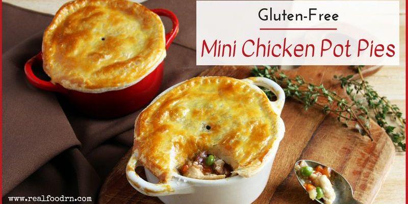 Gluten-Free Mini Chicken Pot Pies