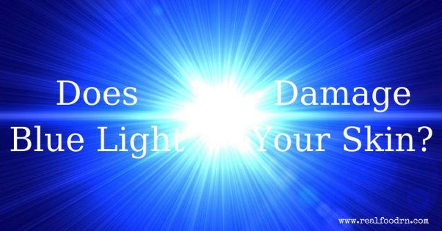 Does Blue Light Damage Your Skin?   Real Food RN