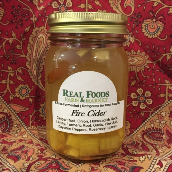 Fire Cider - Real Foods Farm - Wimberley, Texas