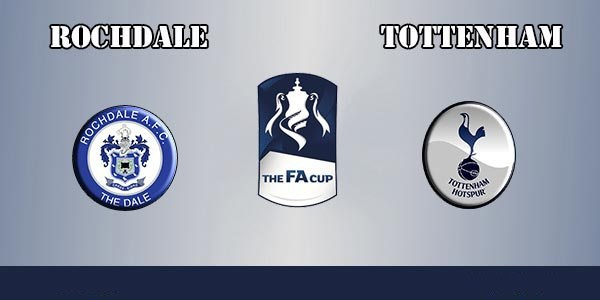 Rochdale vs Tottenham – F.A. Cup Match Preview