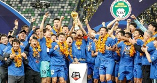 Chinese Super League Champions Disbanded