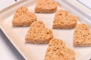 Cannabis Rice Krispy Treat Hearts