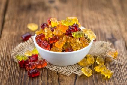 bowl of gummy bears