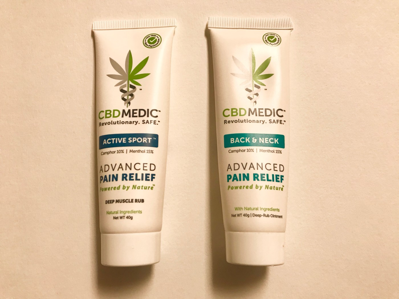CBDMedic advanced pain relief back and neck