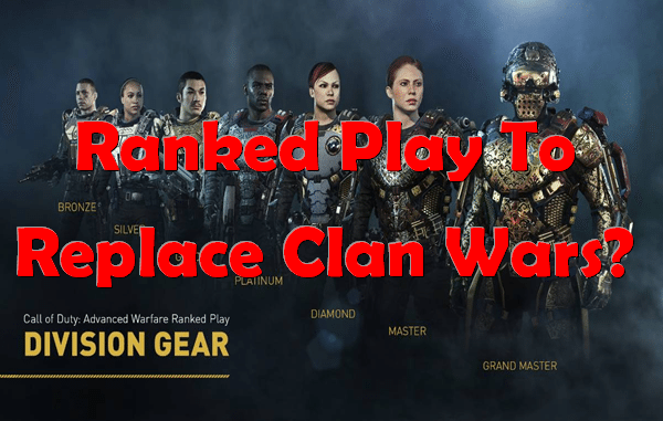 Ranked play to replace Clan Wars?