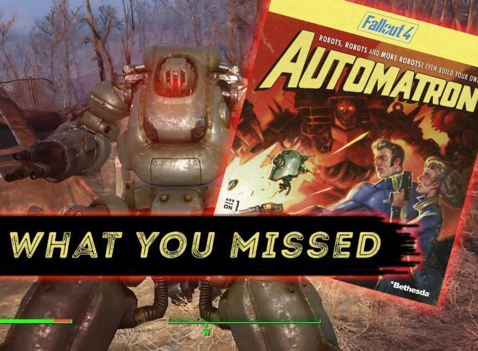 What's Coming in Fallout 4's Automatron? | Real Game Media
