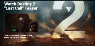 Destiny 2 Website Revealed