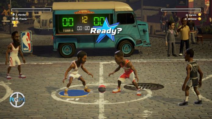 the patch that will bring the NBA Playgrounds challenge mode to the game is rolling out for PlayStation 4 gamers.