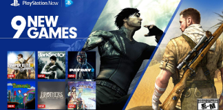new games have been added to PlayStation Now